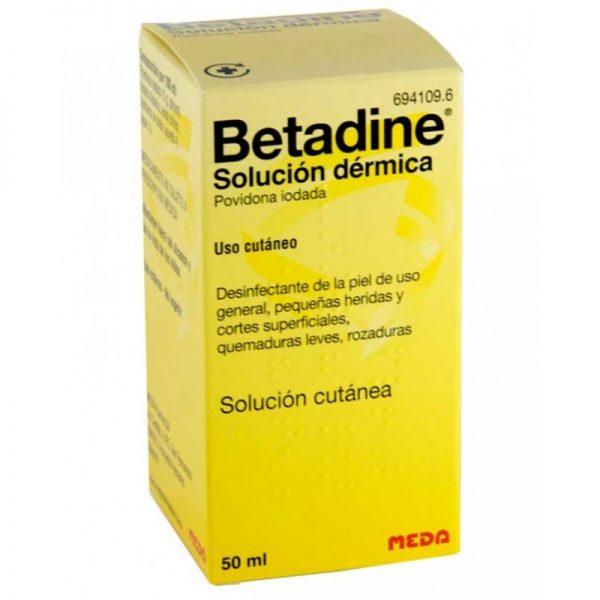 BETADINE SOLUCION DERMICA  50 ML