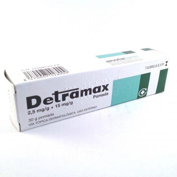 DETRAMAX POMADA 30g