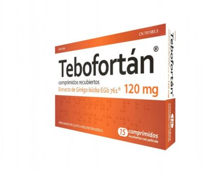 TEBOFORTAN 120 MG. 15 COMP.