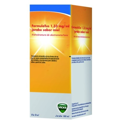 FORMULATUS 1.33 MG/ML JARABE 180 ML