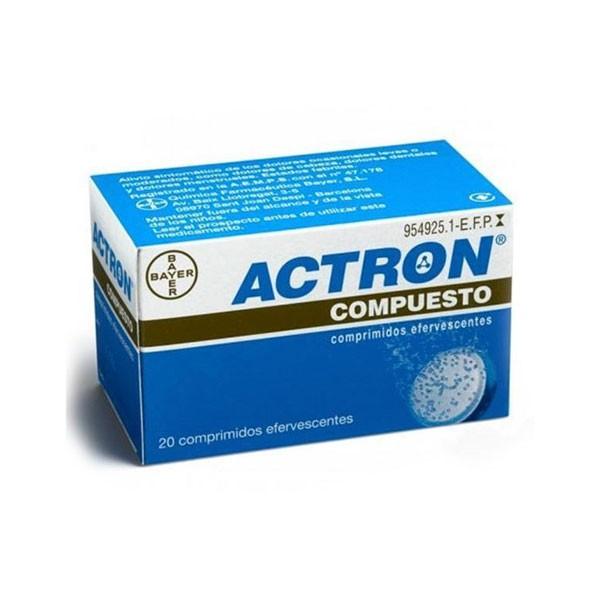 ACTRON COMPUESTO 20COMP EFERV