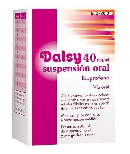 DALSY 40MG/ML SUSPENSION ORAL – 30ML