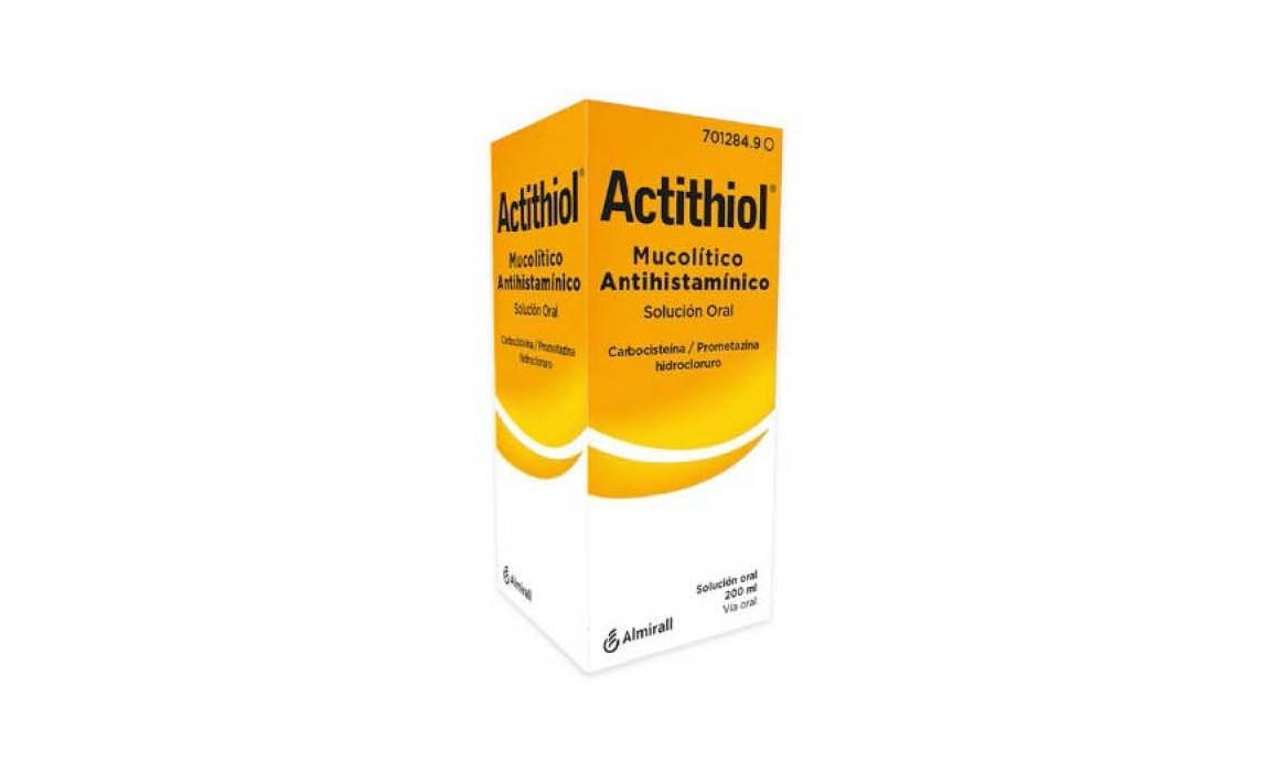ACTITHIOL MUCOLITICO ANTIHISTAMINICO JARABE – 200ML