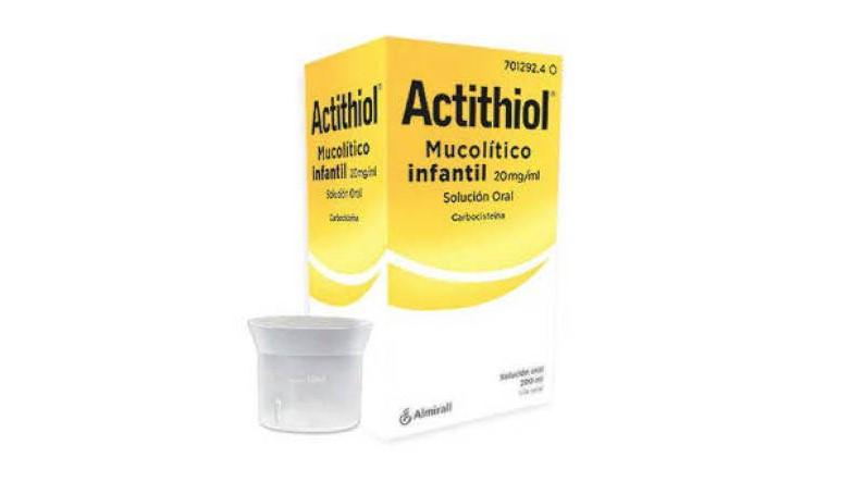 ACTITHIOL MUCOLITICO INFANTIL JARABE – 200ML