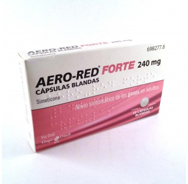 AERO RED FORTE 240MG – 20 CAPS