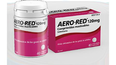 AERO RED 120MG – 40 COMP MASTICABLES