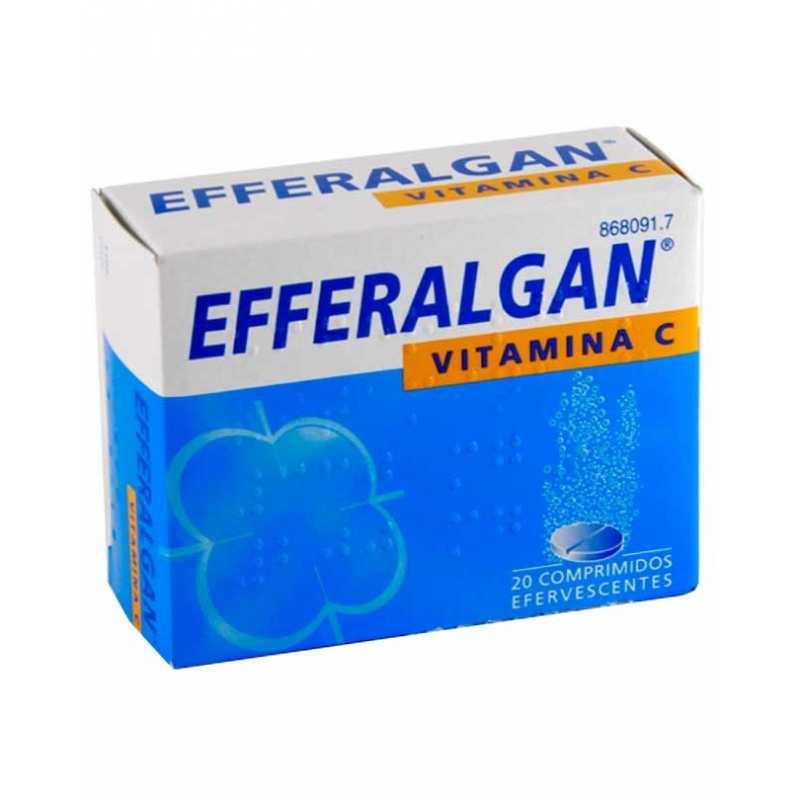 EFFERALGAN VITAMINA C – 20 COMP EFERVESCENTES