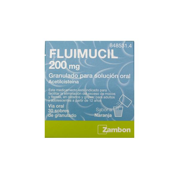 FLUIMUCIL 200MG – 30 SOBRES