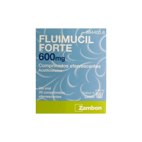 FLUIMUCIL FORTE 600MG – 20 COMPRIMIDOS EFERVESCENTES