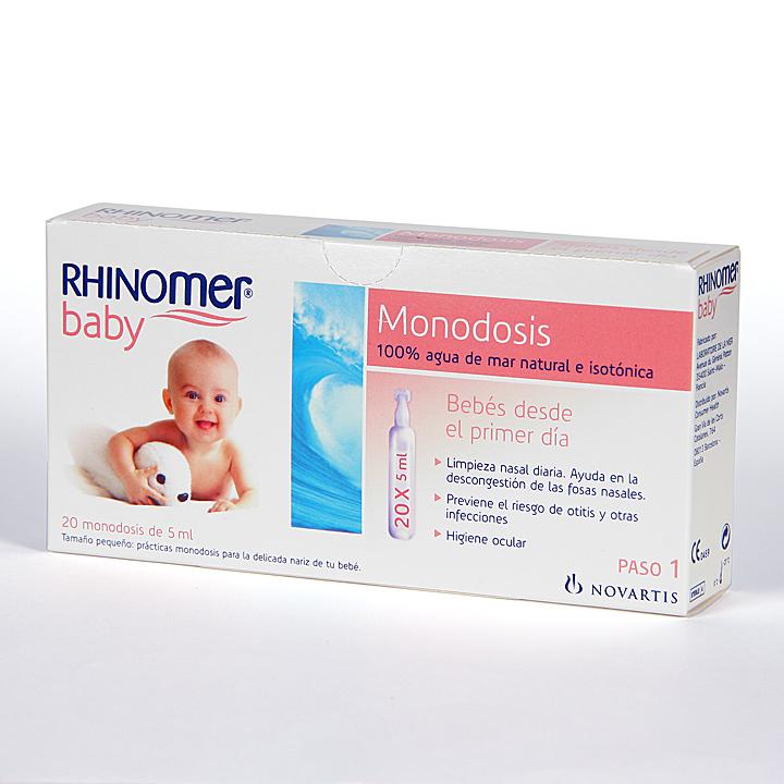 RHINOMER BABY MONODOSIS – 20UNIDADES DE 5ML