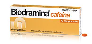 BIODRAMINA CAFEINA – 12COMP