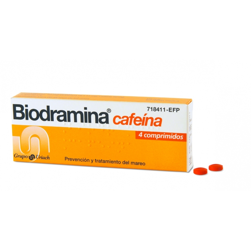 BIODRAMINA CAFEINA – 4COMP