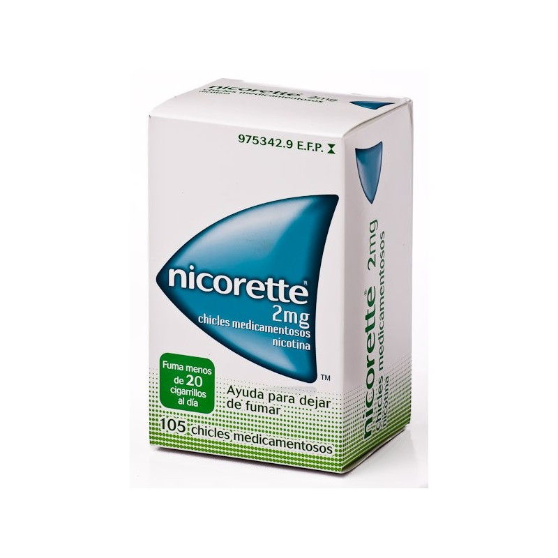 NICORETTE 2MG – 105 CHICLES