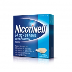 NICOTINELL 14MG/24H 14 PARCHES