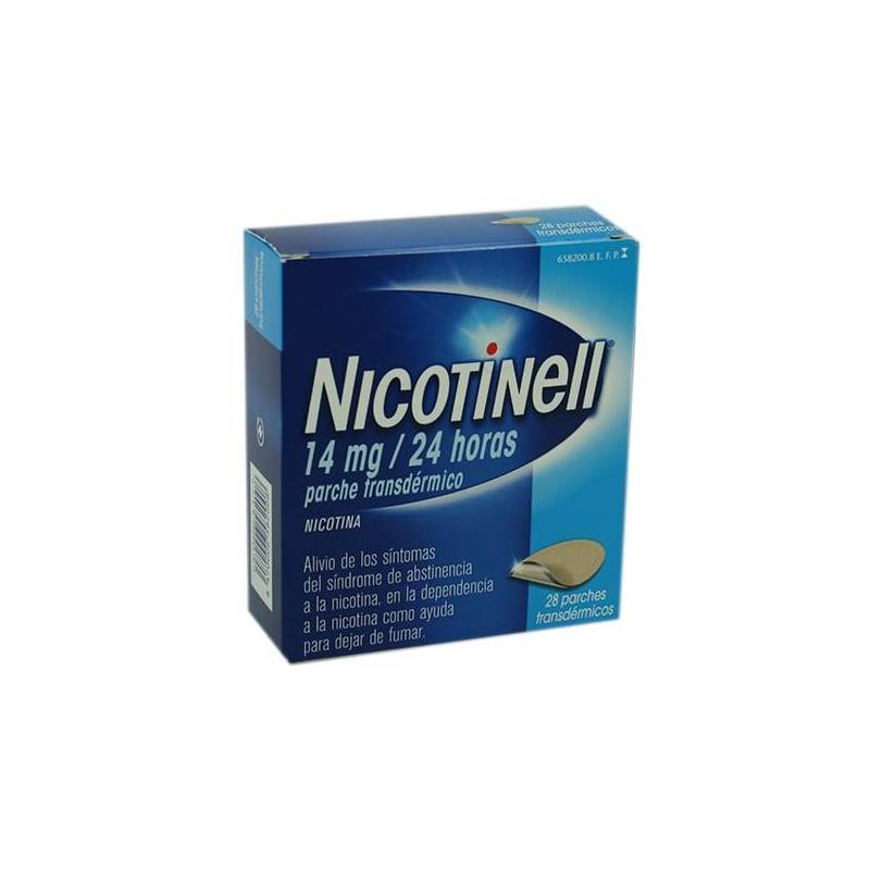 NICOTINELL 14MG/24H 28 PARCHES